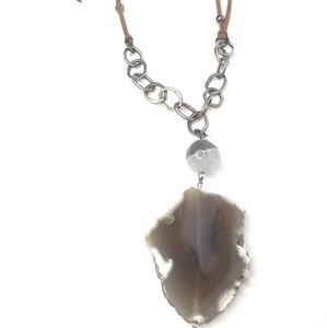 New handmade AGATE necklace!!!
